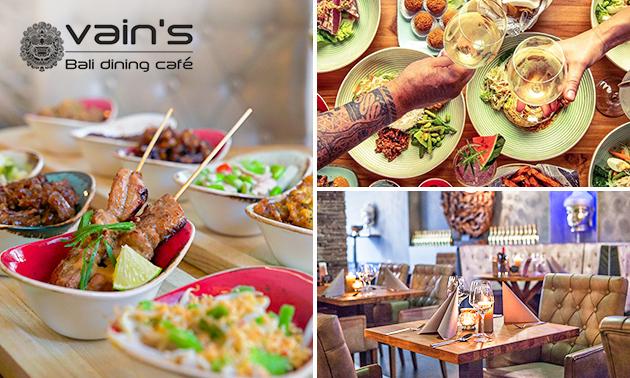 Afhalen: Balinees shared dining-diner van Vain's