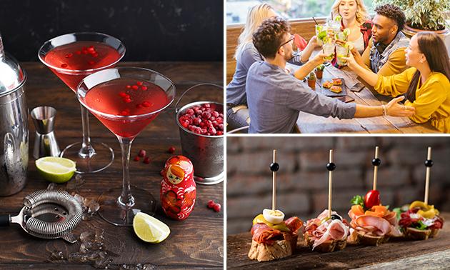 Cocktail + hapjes in hartje Oostende