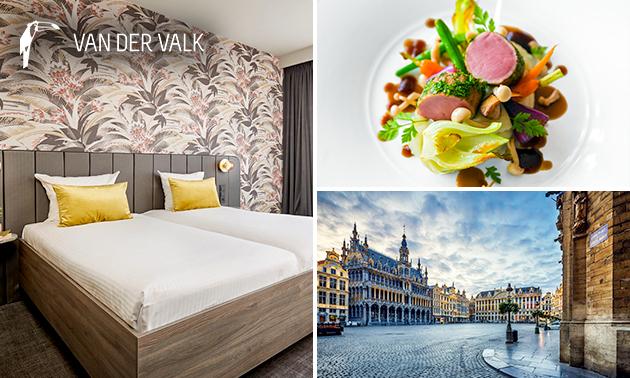 Nuit de luxe pour 2 + petit-déjeuner près de Bruxelles
