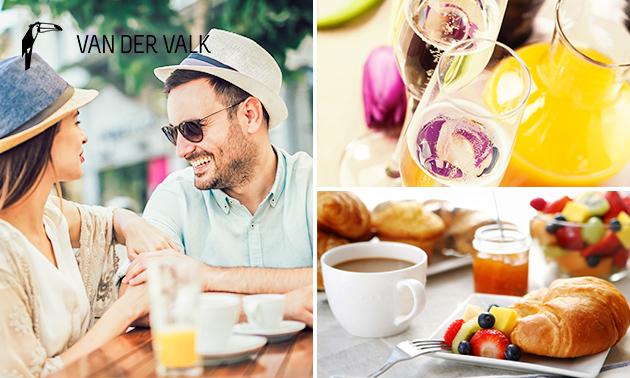 Luxe ontbijt + cava bij Van der Valk