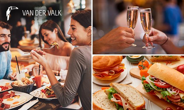 All-You-Can-Eat & Drink lunchbuffet bij Van der Valk
