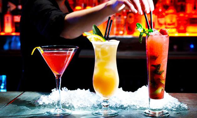 Cocktails voor 2, 4, 6 of 8 personen in hartje Gent
