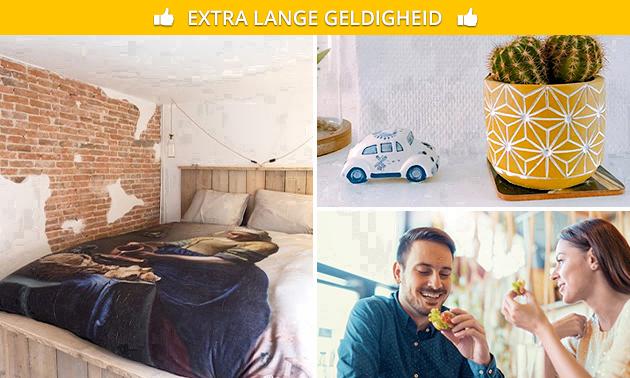 2 overnachtingen + ontbijt in Delft voor 2 personen