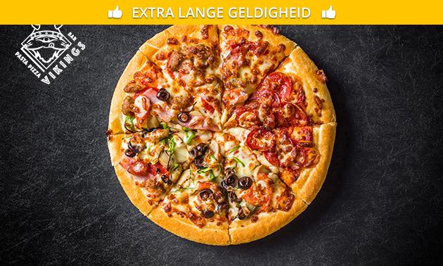 Pizza + drankje naar keuze