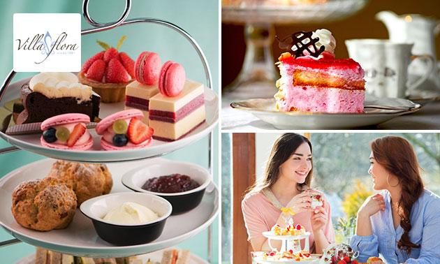 Luxe high tea bij Villa Flora