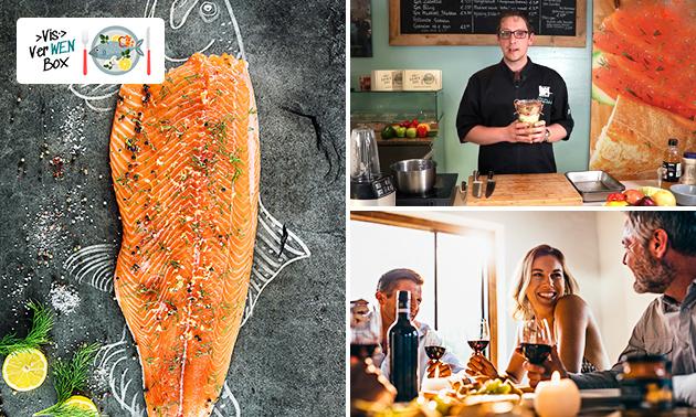 Online kookworkshop + box met dagverse vis