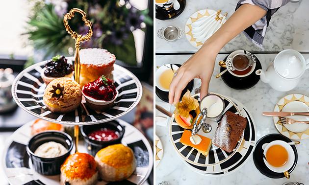 Luxe high tea