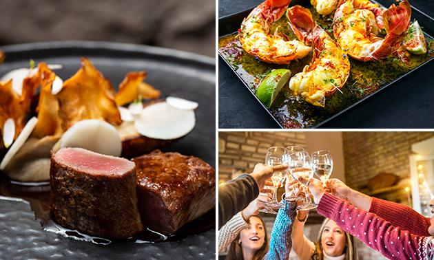 Afhalen: culinair 8-gangen feestdiner van Vous Lé Vous