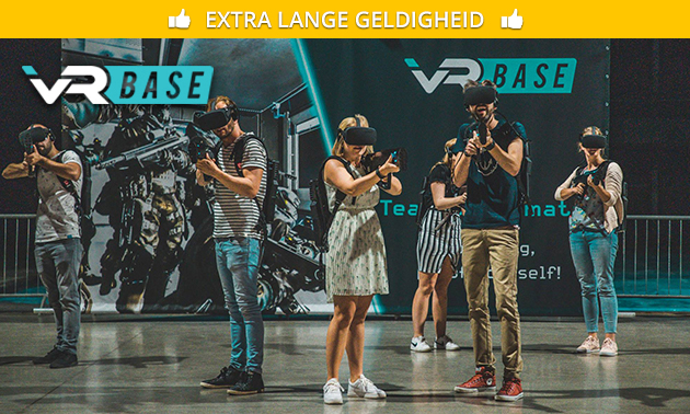 Virtual reality experience (1 uur) bij VR Base