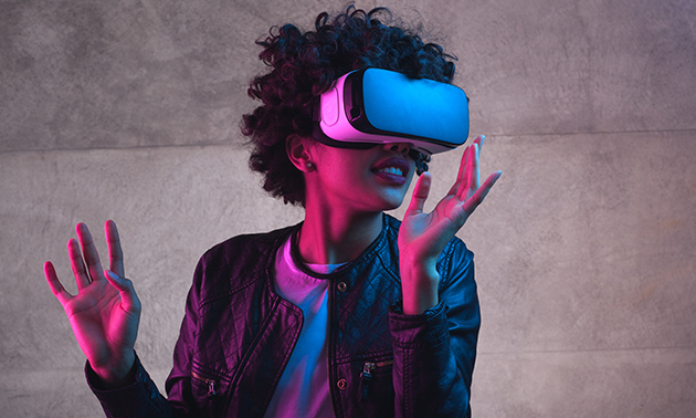Virtual reality game (1 uur)