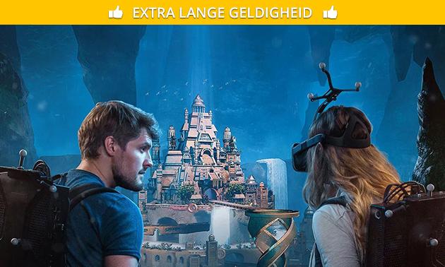 VR-spel naar keuze (60 min)
