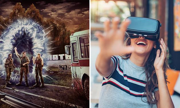 VR-escaperoom voor 2-4 personen (60 min)