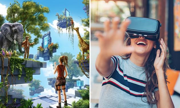 VR-escaperoom voor 4 of 6 spelers (60 min)