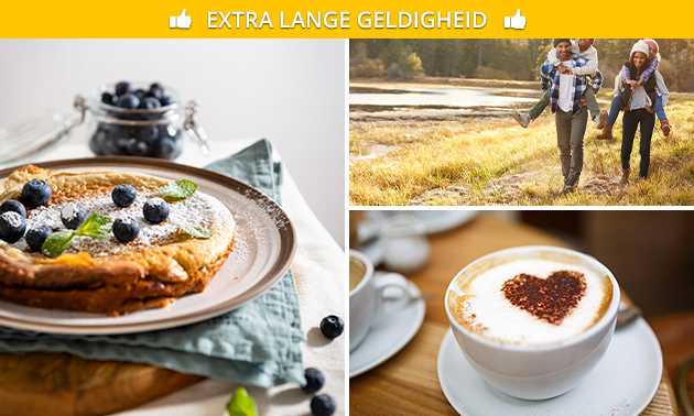Wandelarrangement + pannenkoek met toppings