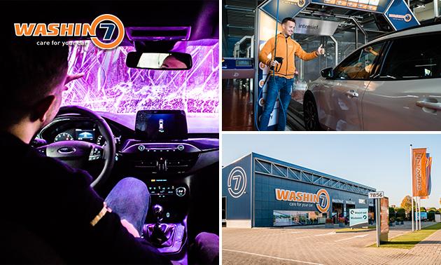 Complete carwash bij Washin7 Eindhoven