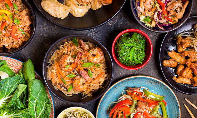 Thuisbezorgd of afhalen: rijsttafel bij Wei Xin Garden