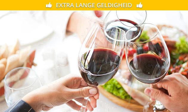 Thuisbezorgd: wijnpakket (3 of 6 flessen) naar keuze