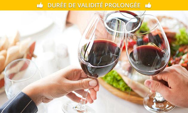 Coffret de vins (3 ou 6 bouteilles) au choix