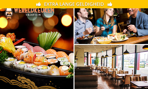 All-You-Can-Eat & Drink (3 uur) bij Triavium