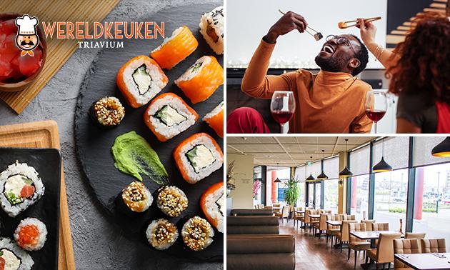 All-You-Can-Eat & Drink (3 uur) bij Triavium