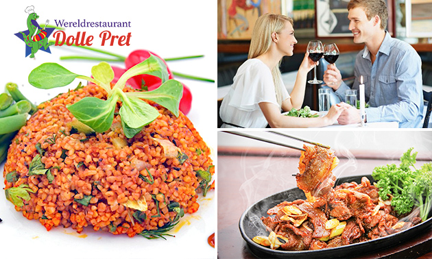 All-You-Can-Eat & Drink (3 uur) bij Dolle Pret