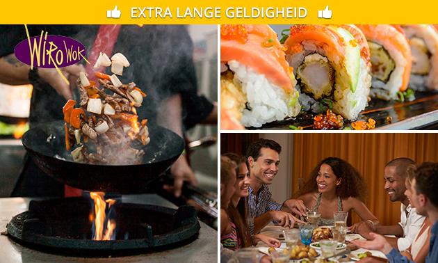 Thuisbezorgd of afhalen: Aziatisch diner voor 2 of sushibox