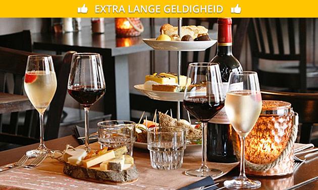 Thuisbezorgd of afhalen: high-winepakket voor 2