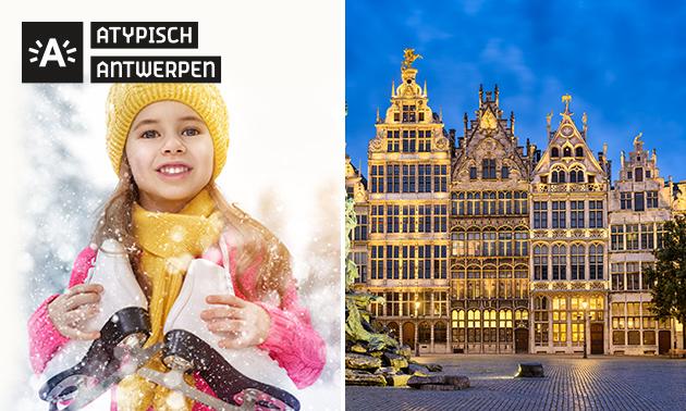 Schaatsen in hartje Antwerpen + 3 drankjes