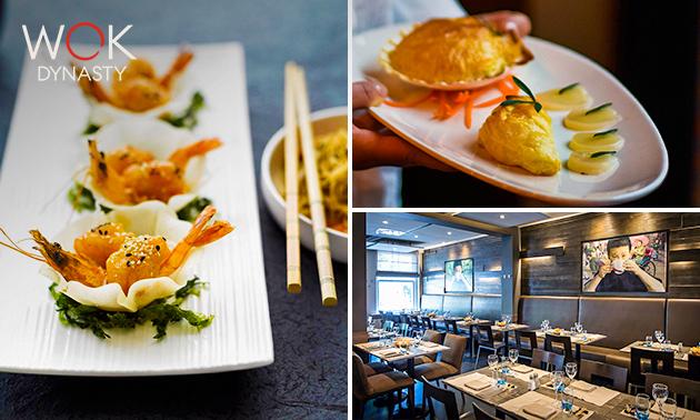 Afhalen: 3-gangen shared dining bij Wok Dynasty