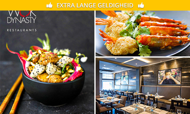 All-You-Can-Eat + aperitief + koffie/thee bij Wok Dynasty