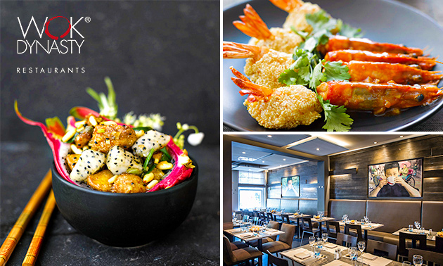 All-You-Can-Eat + cava + koffie/thee bij Wok Dynasty