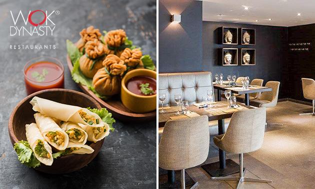 À emporter : menu en 3 services à partager chez Wok Dynasty