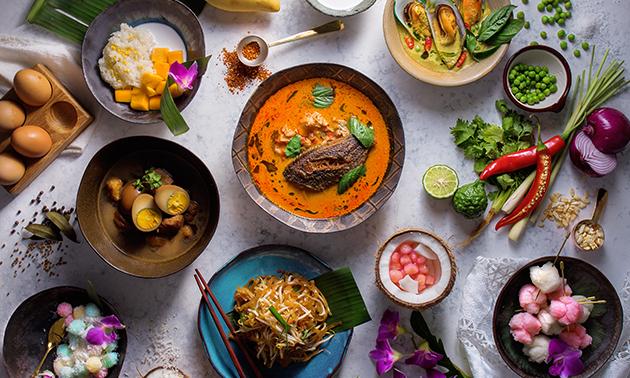 Afhalen: Thaise rijsttafel