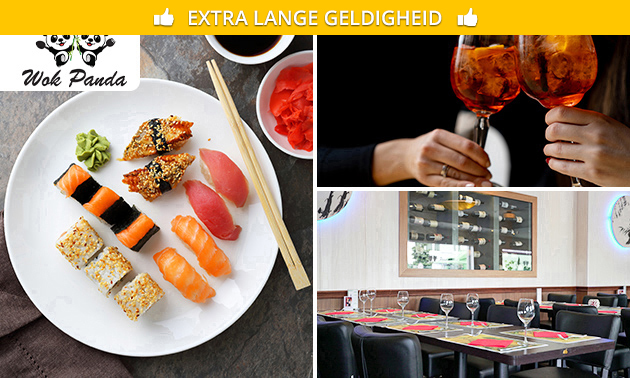 All-You-Can-Eat & Drink + cocktail (3 uur) bij Wok Panda