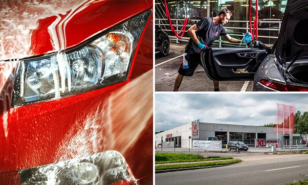 Uitgebreide autowasbeurt bij XL Carwash