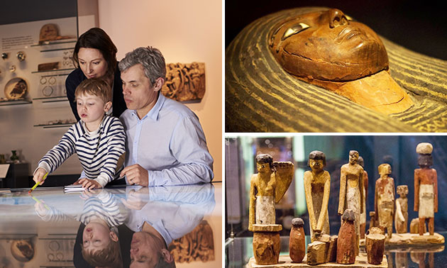 Entree voor 'Mummies' in Xpo Center in hartje Brugge
