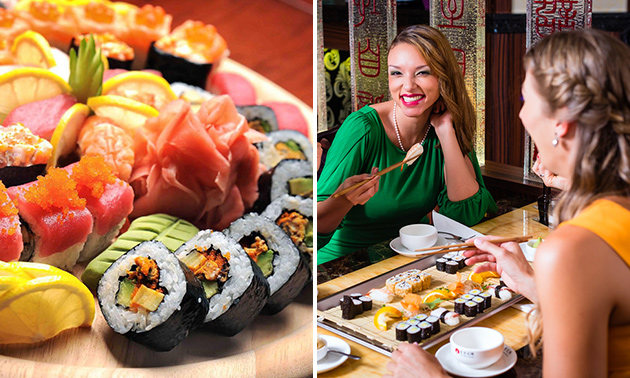 All-You-Can-Eat sushi (3 uur) in hartje Eindhoven