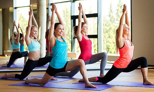 8 yogalessen (75 min per les)
