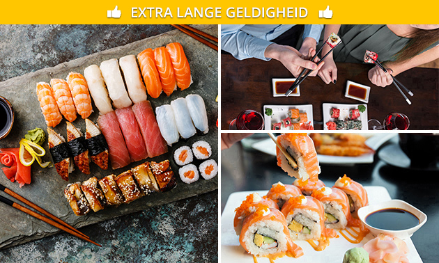 All-You-Can-Eat (2,5 uur) bij Yukinii in hartje Antwerpen