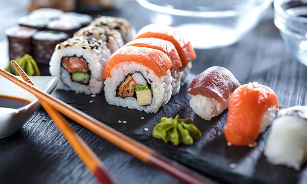 Thuisbezorgd of afhalen: sushibox voor 4 pers. bij Yukinii