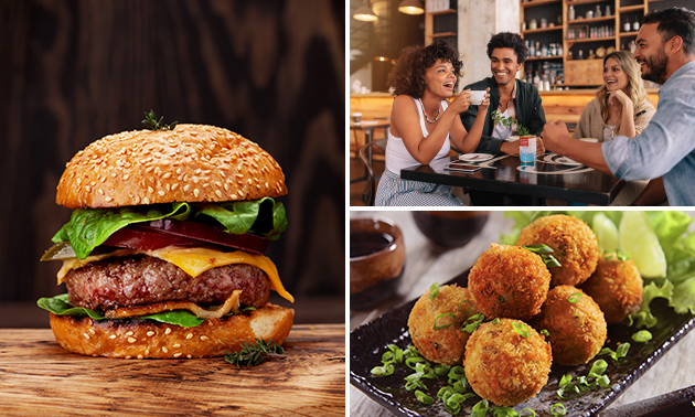 Afhalen: lunch/diner + warme hapjes bij Yummy Street Food