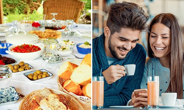 Turks ontbijtbuffet bij Yurda´s Keuken