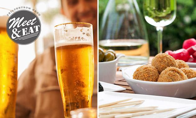 Borrelplank + bier of wijn bij Grou Meet & Eat