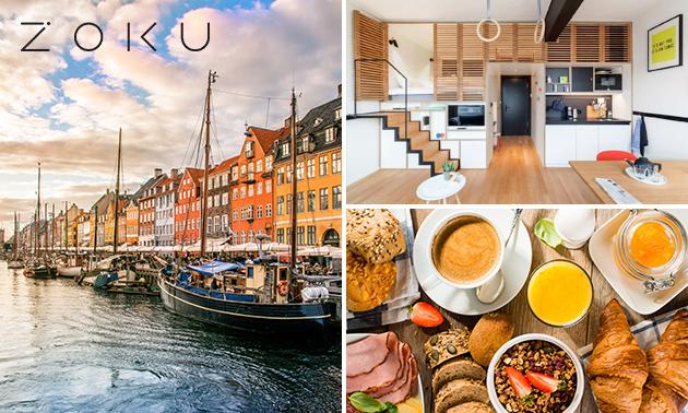 Overnachting voor 2 in een XL loft + ontbijt in Kopenhagen