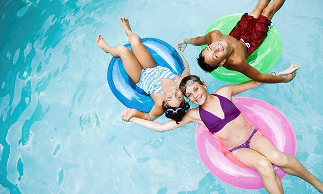 Entree Zwembad de Berkel voor 2 of 3 personen