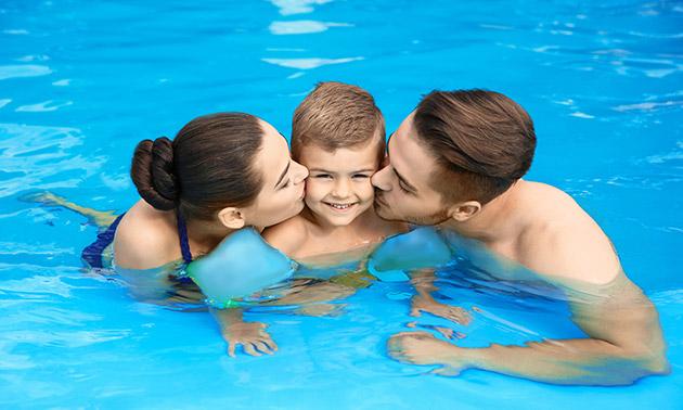 Entree voor 2 of 3 pers. bij Zwembad de Roerdomp